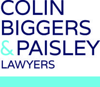 Colin Biggers and Paisley logo