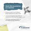 Work-life boundaries as a teacher