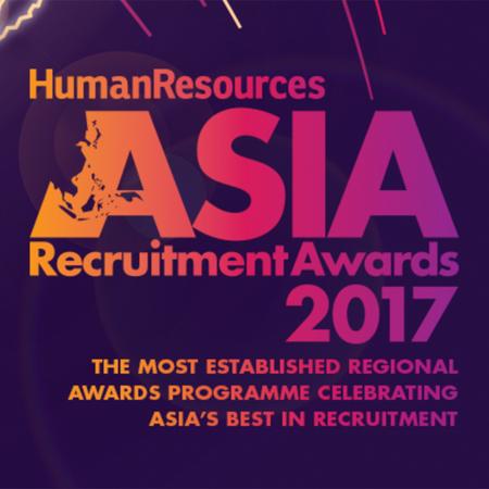Asia Recruitment Awards 2017 award