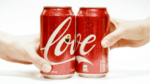 Coca cola love in support of marriage equality