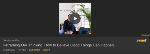 Reframing our thinking: How to believe good things can happen