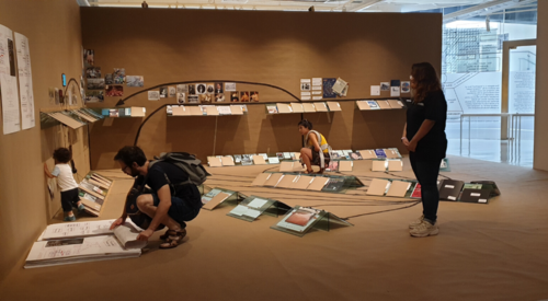 BGC Group - Gallery sitter at Singapore Biennale 2019