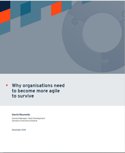 Why organisations need to become more agile to survive