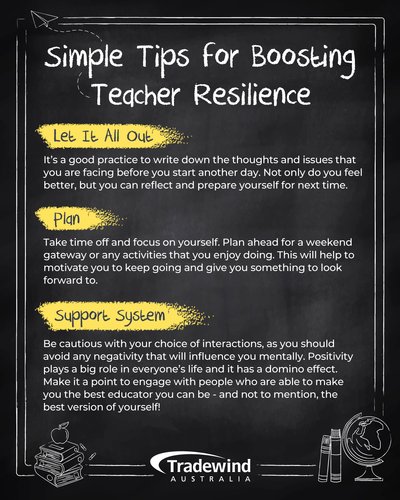 Tips for Boosting Teacher Resilience