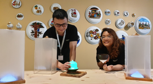 BGC Group - Learning to set up art pieces at Singapore Biennale 2019