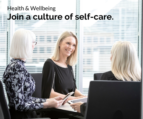 Entree Recruitment Careers: Health and Wellbeing - Join a culture of self-care