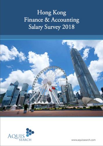 Hong Kong Finance and Accounting Salary Survey 2018