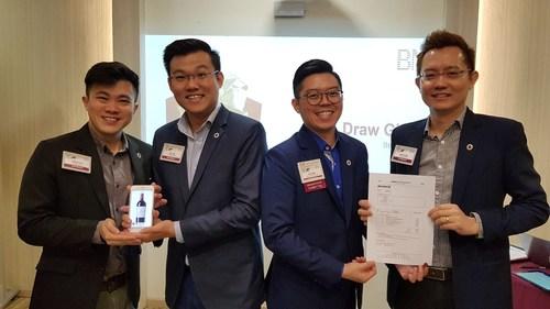 Managing Director Zac Ng at Business Network International (BNI) Award Presentation