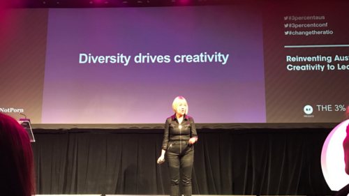 Diversity drives creativity. Gender Equality in the Creative Industry
