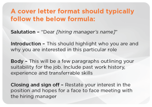How Your Cover Letter Should Differ From Resume