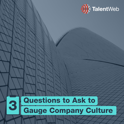 3  Questions to Ask to Gauge Company Culture