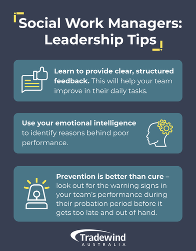 Social Work Managers: Leadership Tips