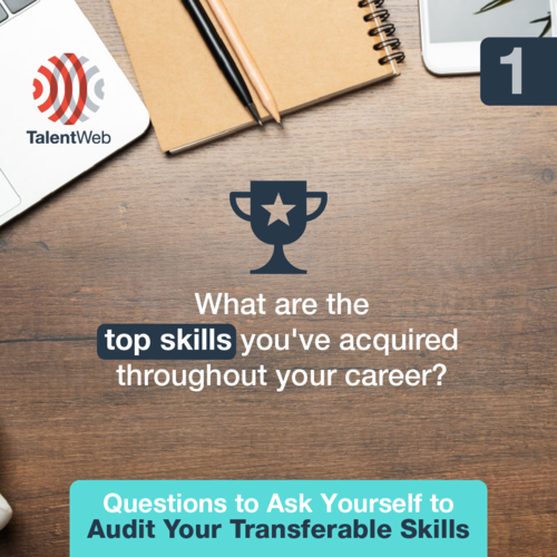 Questions to Ask Yourself to Audit Your Transferable Skills