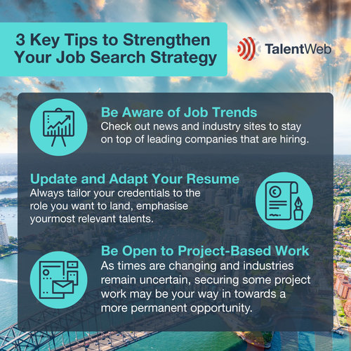 3 Key Tips to Strengthen Your Job Search Strategy