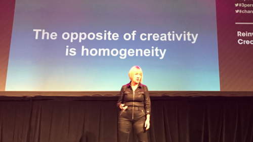 The opposite of creativity is homogeneity. Gender Equality in the Creative Industry
