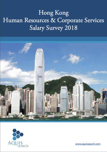 Hong Kong human resource & corporate services salary survey 2018