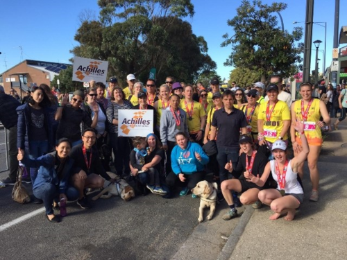 Running the Great Ocean Road With Sophie and the Achilles Running Group