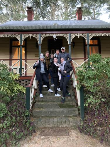 Team at Wentworth Valley