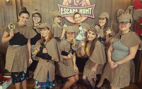 Entree Recruitment - Team Culture - Escape Room