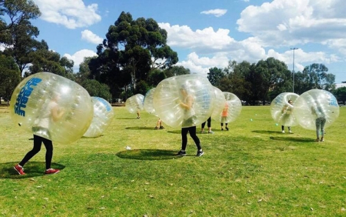 Entree Recruitment - Bubble Soccer - Team Culture