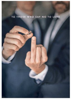 To those who say no to love