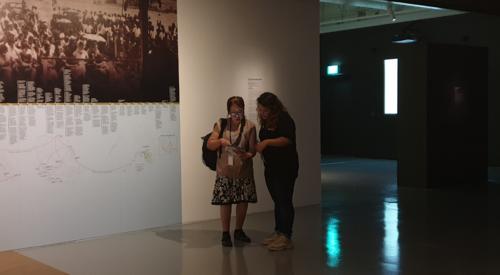 BGC Group - Meeting art lovers at Singapore Biennale 2019